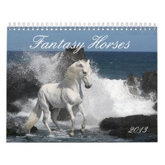 Caballos de la fantasía calendarios