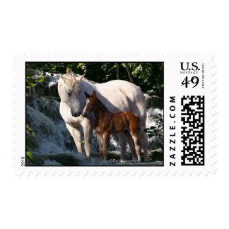 Caballos de la fantasía: Cascada Timbres Postales