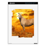 Caballos de la fantasía: Montaña iPad 3 Pegatinas Skins