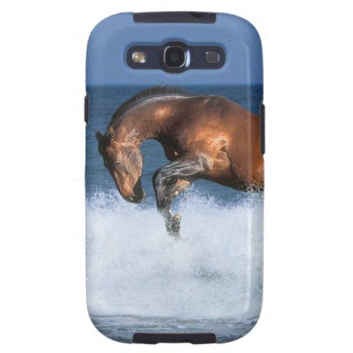 Caballos de la fantasía: Selle Francais y mar Galaxy S3 Cárcasa