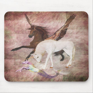 Caballos de la fantasía tapetes de raton