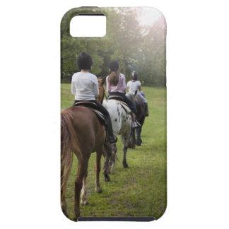 Caballos de montar a caballo de las niñas funda para iPhone SE/5/5s