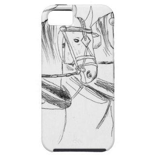 Caballos de proyecto de Percheron iPhone 5 Carcasa