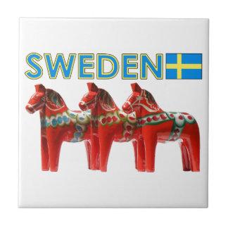 Caballos de Suecia Dala Tejas Cerámicas