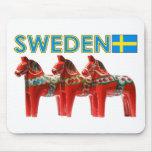 Caballos de Suecia Dala Tapete De Raton