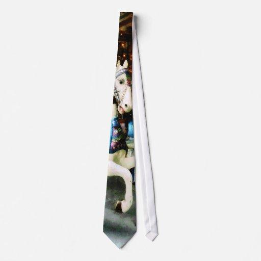 Caballos del carrusel corbata