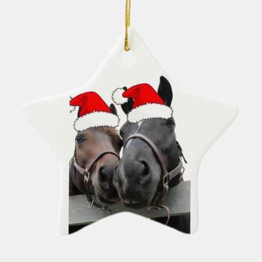 Caballos del navidad ornamento de reyes magos