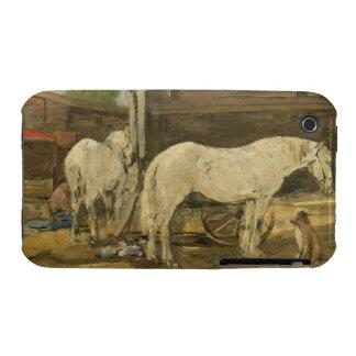 Caballos gitanos, c.1885-90 (aceite en lona) iPhone 3 Case-Mate cárcasas