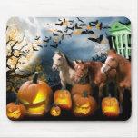 Caballos Halloween Mousepad