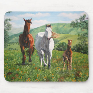 caballos mouse pad