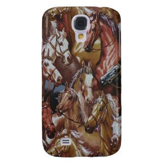 Caballos occidentales 3G/3GS del estilo Funda Samsung S4