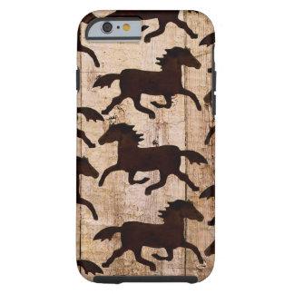 Caballos occidentales del país en los regalos de funda de iPhone 6 tough