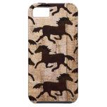 Caballos occidentales del país en los regalos de m iPhone 5 cárcasa