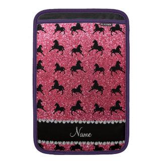 Caballos rosados fucsias conocidos personalizados  fundas macbook air