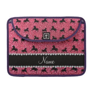 Caballos rosados fucsias conocidos personalizados  fundas para macbook pro