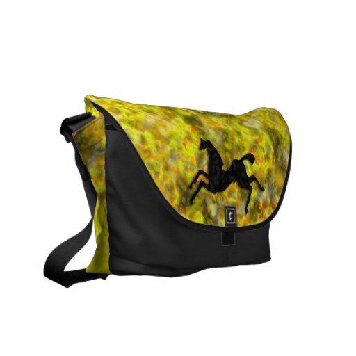 Caballos salvajes #6 vagos bolsas de mensajeria