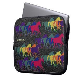 caballos salvajes, animales del campo manga computadora