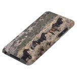 Caballos salvajes del mustango en el desierto 2 iPod touch Case-Mate funda