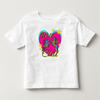 "Caballos salvajes del ""niño salvaje"" t-shirts"