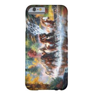 Caballos salvajes funda de iPhone 6 barely there