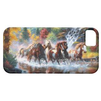 Caballos salvajes iPhone 5 carcasa