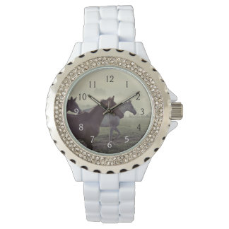 Caballos salvajes relojes de pulsera