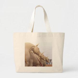 Caballos sin pintar bolsa