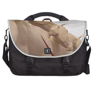 Caballos sin pintar bolsas de ordenador