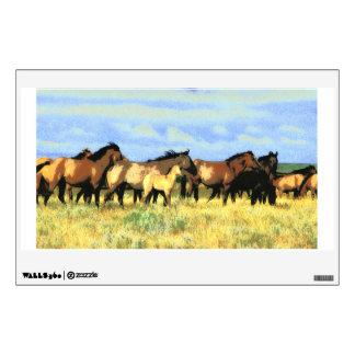 caballos vinilo decorativo