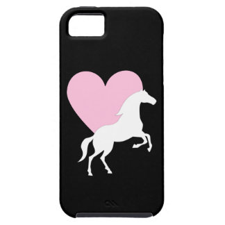 Caballos y amor iPhone 5 Case-Mate protectores