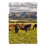 Caballos y colinas iPad mini fundas