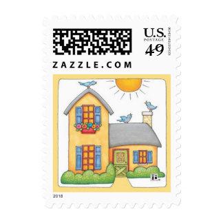 Cabaña 1 sellos