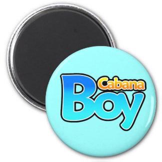 Cabana Boy 2 Inch Round Magnet