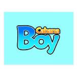 Cabana Boy Post Cards