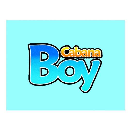 Cabana Boy Postcard