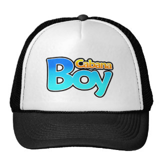 Cabana Boy Trucker Hat