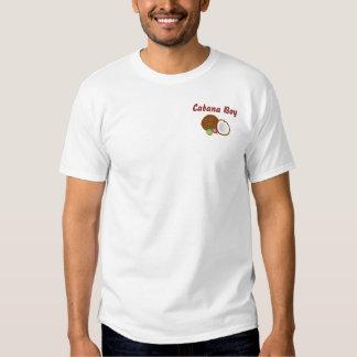 Cabana Boy with coconut 3/4 sleeve raglan Tee Shirt