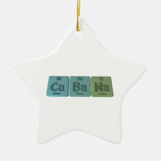 Cabana-Ca-Ba-Na-Calcium-Barium-Sodium.png Ceramic Ornament