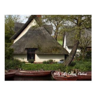 Cabaña cubierta con paja pintoresca de Willy Lott, Tarjetas Postales