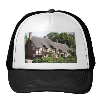 Cabaña cubierta con paja, Stratford, Inglaterra, R Gorro