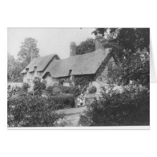 Cabaña de Anne Hathaway Tarjetón