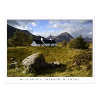 Cabaña de Blackrock, Escocia Tarjeta Postal