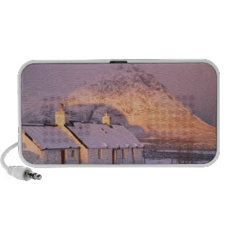 Cabaña de Blackrock, Glencoe, montañas, Escocia 2 iPod Altavoz