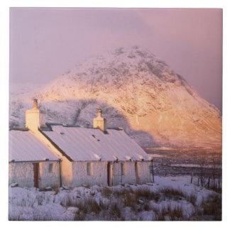 Cabaña de Blackrock, Glencoe, montañas, Escocia 2 Tejas Cerámicas