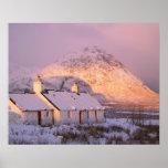 Cabaña de Blackrock, Glencoe, montañas, Escocia 2 Impresiones