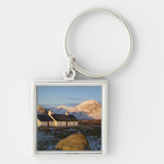Cabaña de Blackrock, Glencoe, montañas, Escocia 3 Llaveros Personalizados