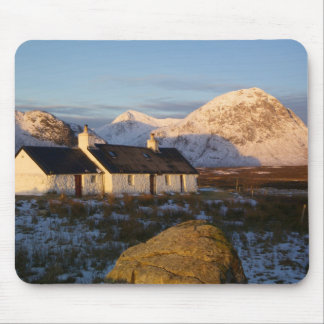 Cabaña de Blackrock, Glencoe, montañas, Escocia 3 Tapetes De Raton