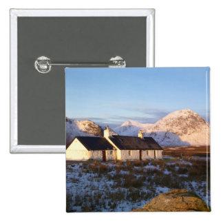 Cabaña de Blackrock, Glencoe, montañas, Escocia Pins