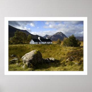 Cabaña de Blackrock, Glencoe Posters