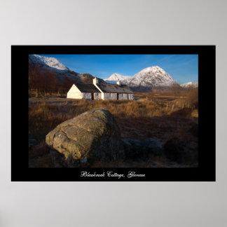 Cabaña de Blackrock, Glencoe. Poster por el cARTer